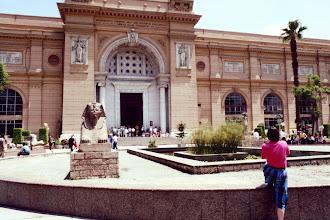 Photo: #003-Le musée d'égyptologie au Caire