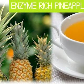 ENZYME RICH PINEAPPLE SKIN SUN TEA