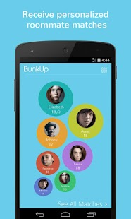 BunkUp : The Roommate Solution- screenshot thumbnail