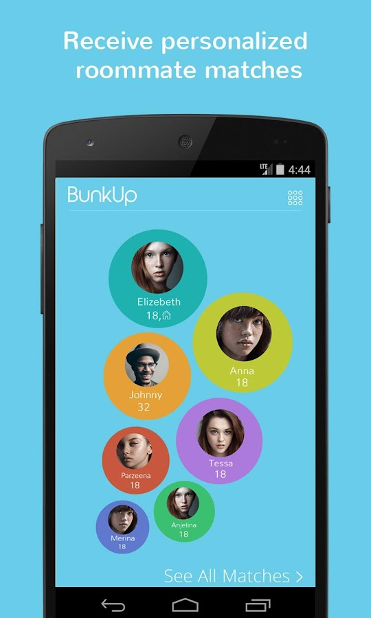 BunkUp : The Roommate Solution- screenshot