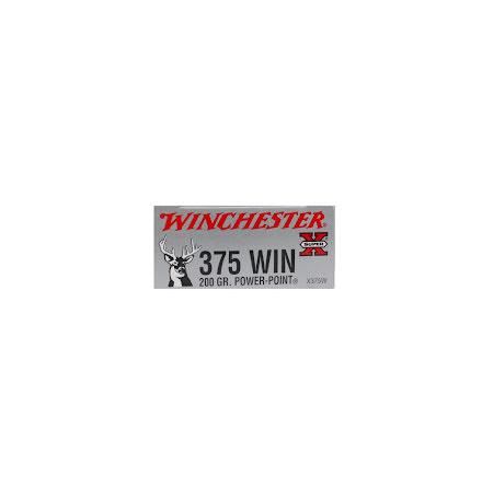 Winchester 375Win 200grain Power-point