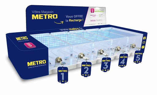 magasin metro grossiste chr marseille les pennes mirabeau recharge telephone chargeur telephone professionnel