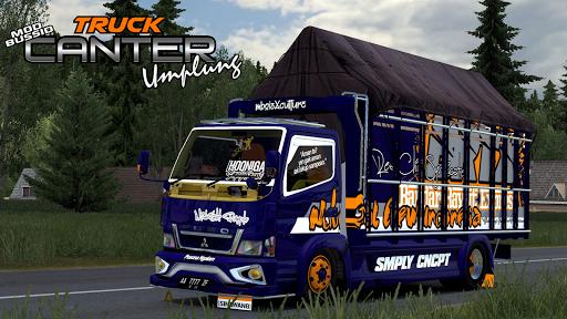Mod Bussid Truck Umplung 1.0 screenshots 1