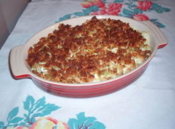 Crunchy Squash Casserole Recipe