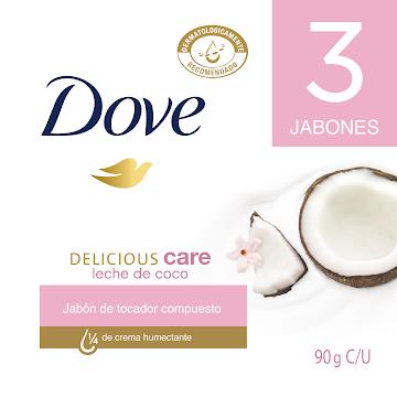 JABON DOVE LECHE DE COCO
