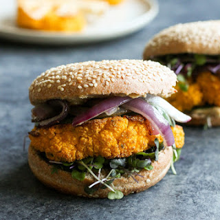 Vegan Cauliflower Steak Burger