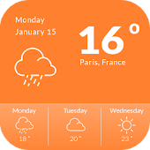 Accu Weather Widget
