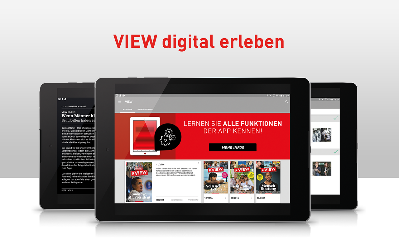 View Magazin- screenshot