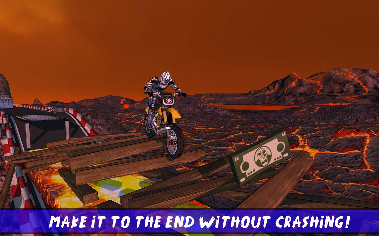 Hill Bike Galaxy Trail World 2- screenshot
