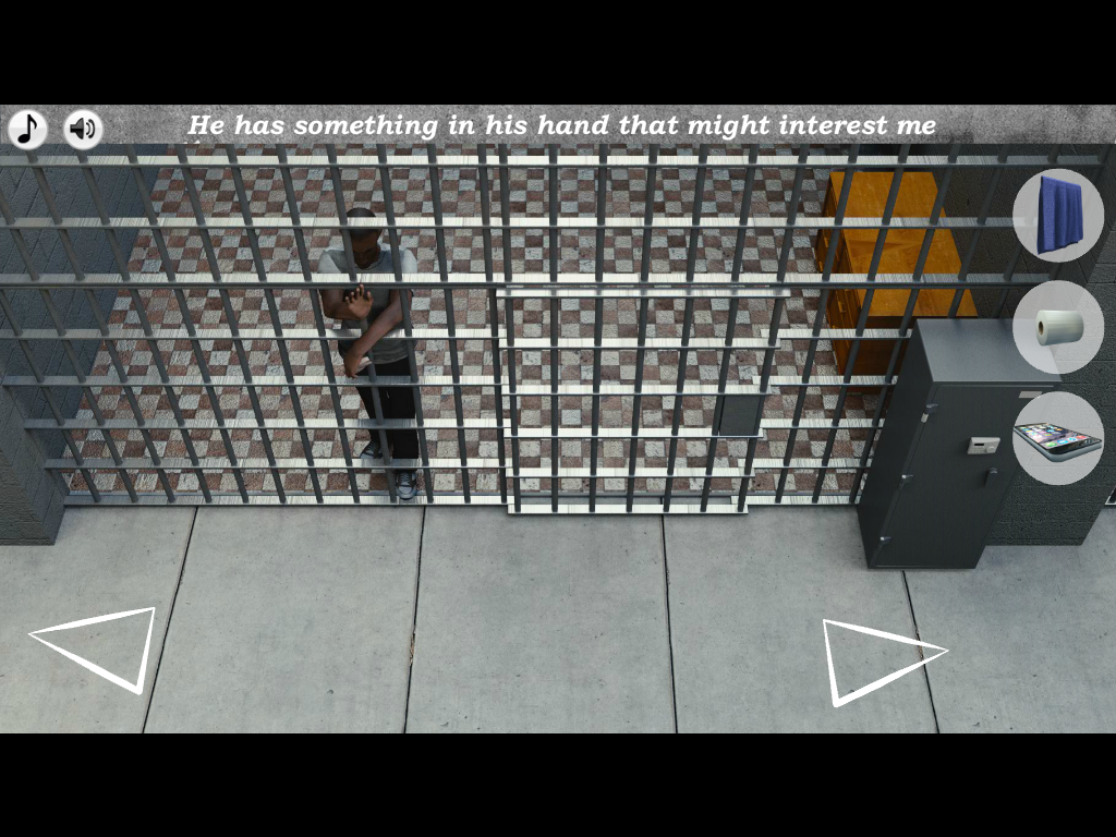 Escape the prison adventure- screenshot