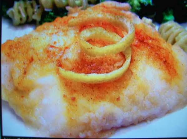 Lemon Baked Cod Fish  By Freda