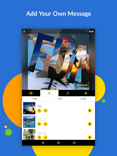 MoShow - Slideshow Maker, Photo & Video Editor 2.5.0.0 Screenshots 12