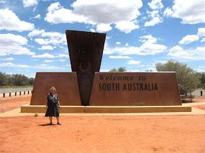 Photo: vstup do Jižní Austrálie