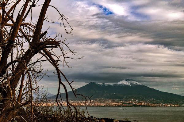 Vesuvio in Gennaio di Alessandro Isaia