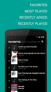 BlackPlayer Music Player- screenshot thumbnail
