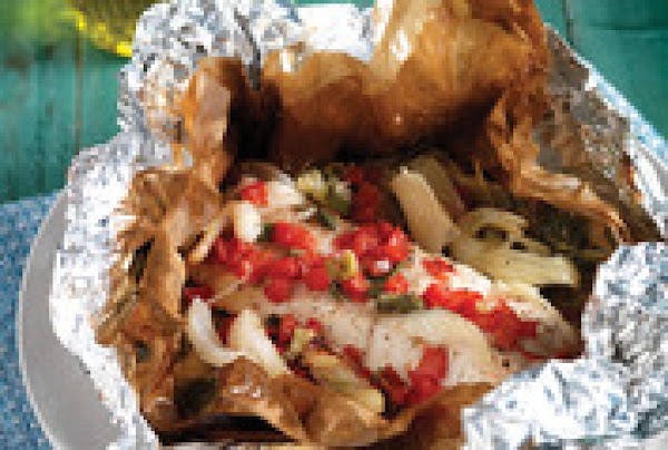 Fish Packed In Parchment Paper Recipe