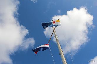 Photo: Banderas de Bonaire y Holanda