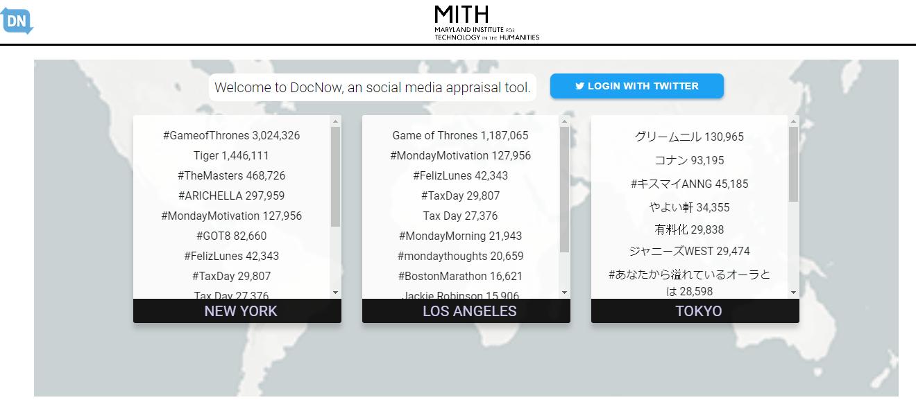 Digital Project Draft: Web archiving Social Media Activism