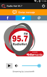 Radio Net 95.7- screenshot thumbnail