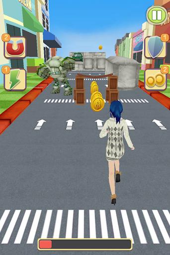 玩免費賽車遊戲APP|下載アニメ 少女 ランナー app不用錢|硬是要APP