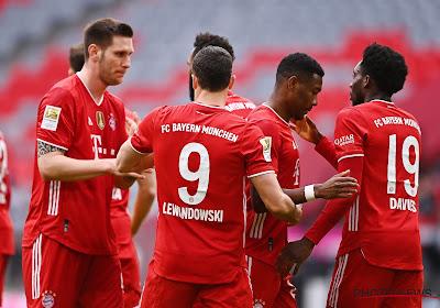 Bundesliga : le Bayern fait un pas de plus vers le titre, Gladbach étrille Francfort