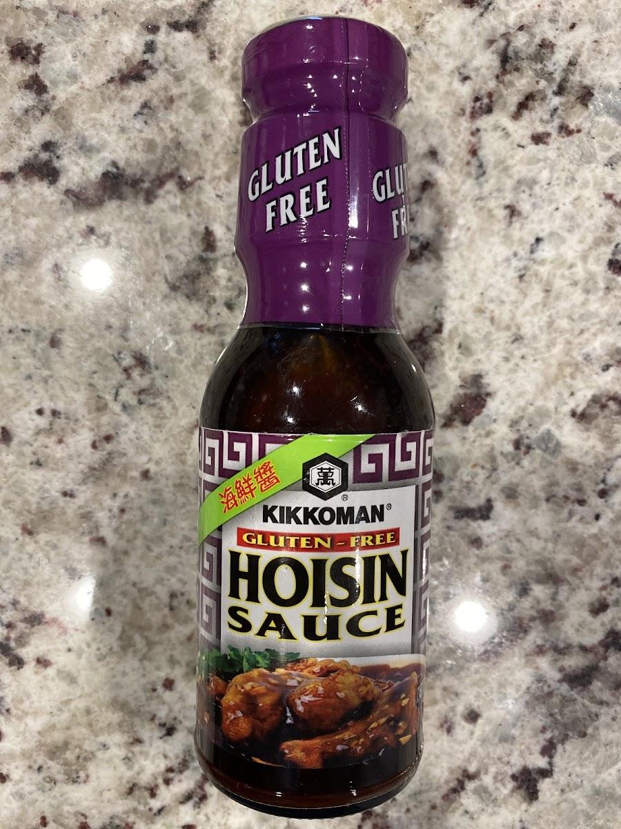 Gluten-free hoisin sauce