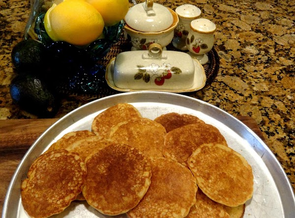 Here is what they look like. Keep Johnny cakes warm until you have finished...