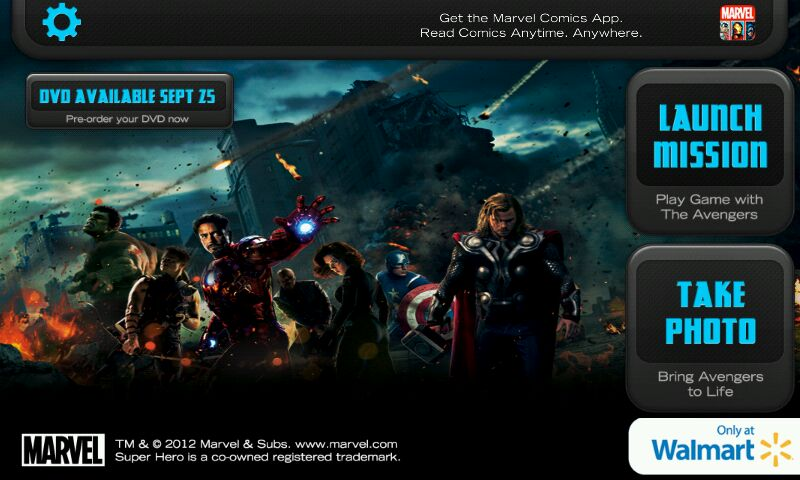 Photo: After learning about what the Super Hero app can do, I was anxious to get my family to Walmart #MarvelAvengersWMT