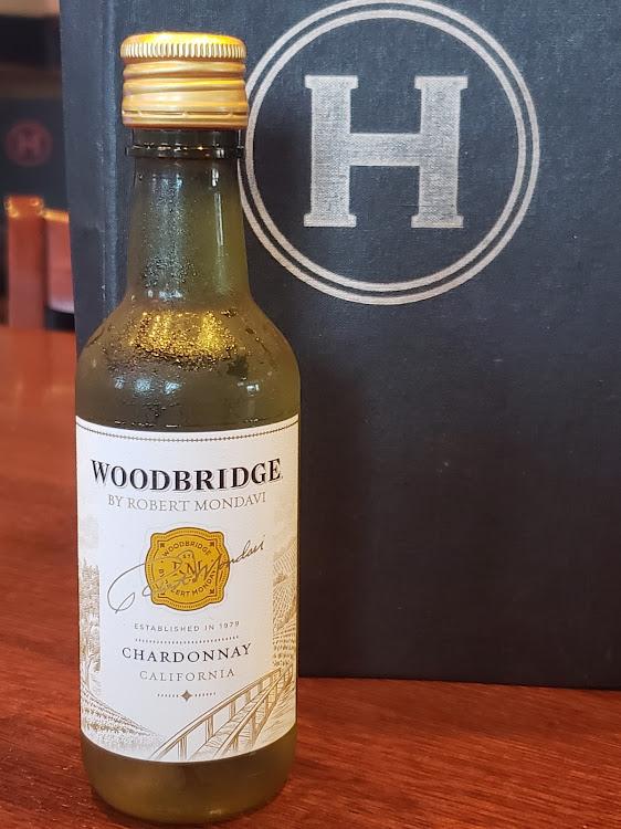 Logo for Robert Mondavi Woodbridge Chardonnay