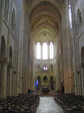 Photo: The interior has the typical look and feel of Gothic churches.