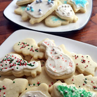 Grandma's Holiday Prize Cookies.