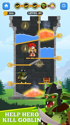 Hero Rescue - Unique Puzzle screenshots 2