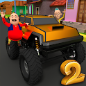 Motu Patlu Car Game 2 icon