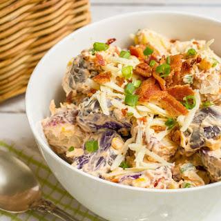 Cheddar, Corn And Bacon Potato Salad