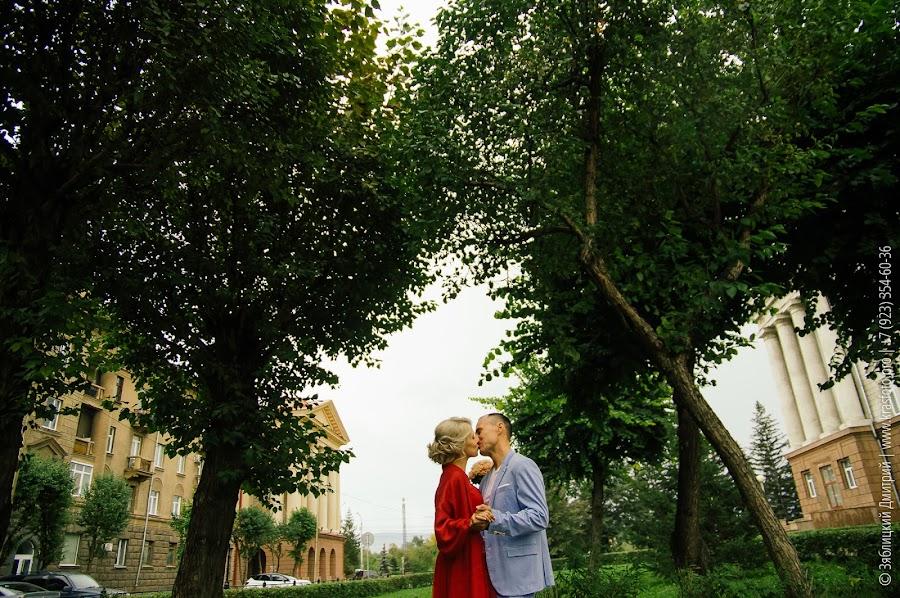 Свадебный фотограф Дмитрий Зяблицкий (dancer). Фотография от 01.10.2017