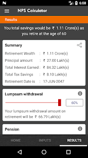 NPS India - Pension & Retirement Calculator – Apps on Google Play