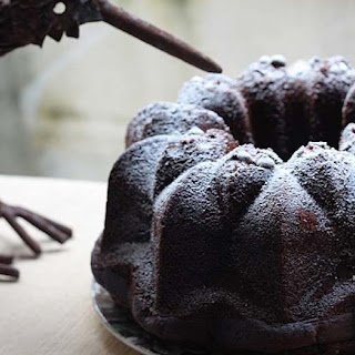 Vegan Chocolate Banana Bundt Cake