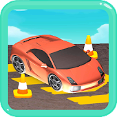 Free the Car - unblock the trapped car puzzle