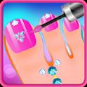 Beauty Toe Nail Salon Makeover icon