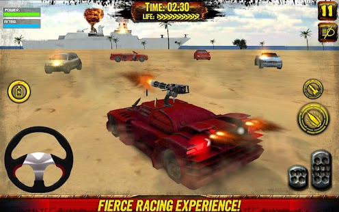 Death Race: Beach Racing Cars- screenshot thumbnail