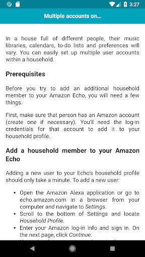 Tips & Tricks for Amazon Echo Dot 1.0.1 screenshots 4