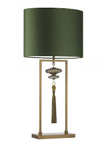 Heathfield & Co Constance Bordslampa Antique Brass - lavanille.com