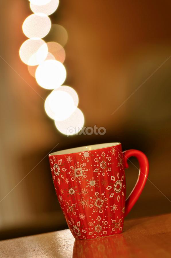 Christmas Joy! by Ro Ducay - Public Holidays Christmas ( mug, lights, pwcholidays, cup of tea, drink, cup of coffee )