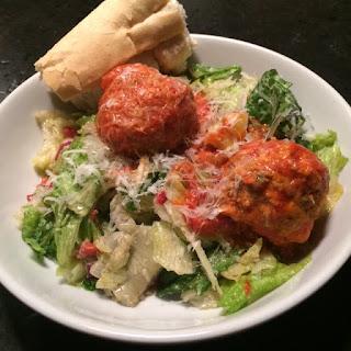 Meatball Salad