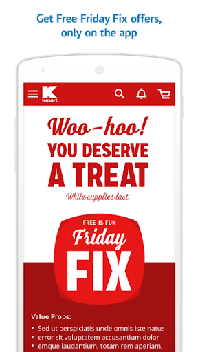 Kmart - Download & Shop Now Screenshot