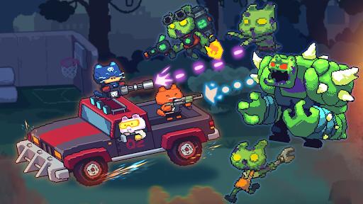 Cat Gunner: Super Zombie Shooter Pixel filehippodl screenshot 3