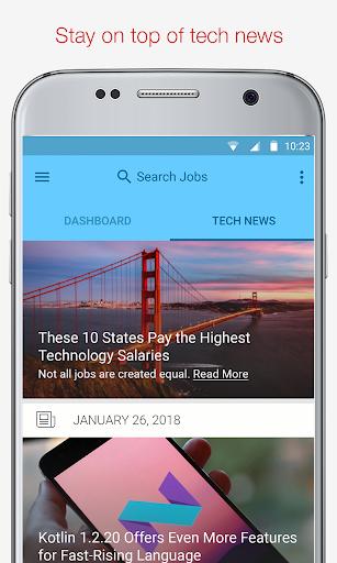 Tech Jobs, Skills & Salary 3.3.14 screenshots 5