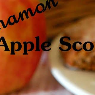 Cinnamon Apple Scones.