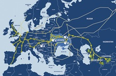 GDF centragas map