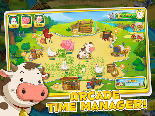 Jolly Days Farm: Time Management Game screenshots 1